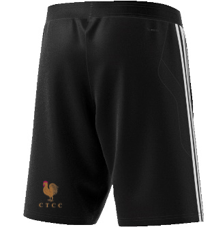 C.T.C.C. Adidas Black Training Shorts