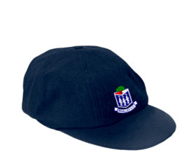 Whalley CC Navy Baggy Cap