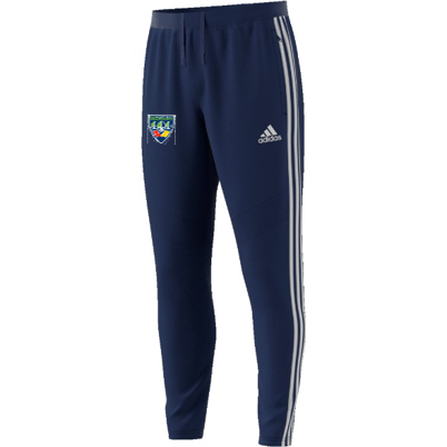North West Warriors CC Adidas Junior Navy Training Pants