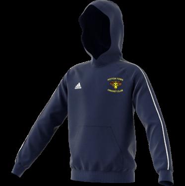 Potton Town CC Adidas Navy Junior Fleece Hoody