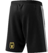 Blaydon CC Adidas Black Training Shorts