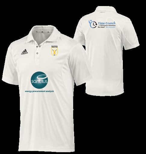 Blaydon CC Adidas Elite S/S Playing Shirt