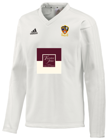 Ossett CC Adidas L/S Playing Sweater