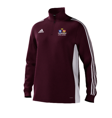 Oakwood Park Grammar School CC Adidas Maroon Training Top