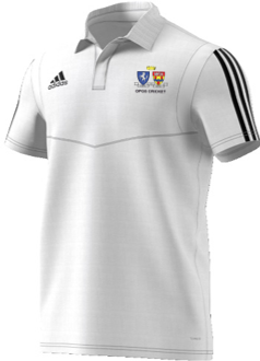 Oakwood Park Grammar School CC Adidas White Polo