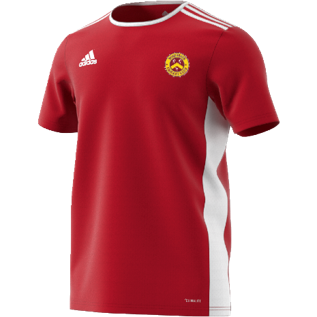 Wheldrake CC Adidas Red Training Jersey