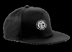 Thornton CC Black Snapback Hat