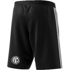 Thornton CC Adidas Black Training Shorts