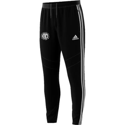 Thornton CC Adidas Black Junior Training Pants