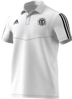 Thornton CC Adidas White Polo