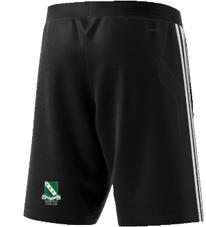 Raunds Town CC Adidas Black Training Shorts