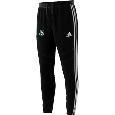 Raunds Town CC Adidas Black Training Pants