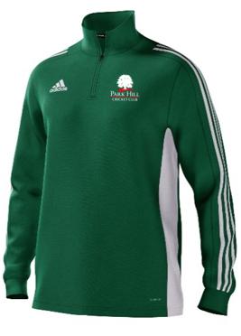 Park Hill CC Adidas Green Junior Training Top