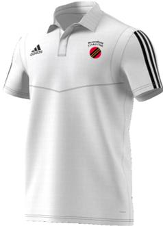 Broomfield CC Adidas White Polo