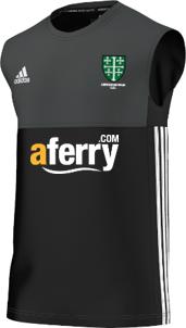 Abingdon Vale CC Adidas Black Training Vest