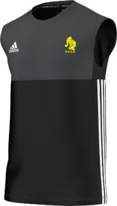 Sully Centurions CC Adidas Black Training Vest