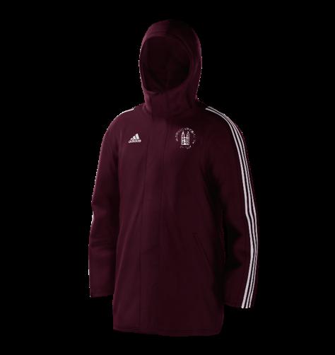 Southwell CC Maroon Adidas Stadium Jacket