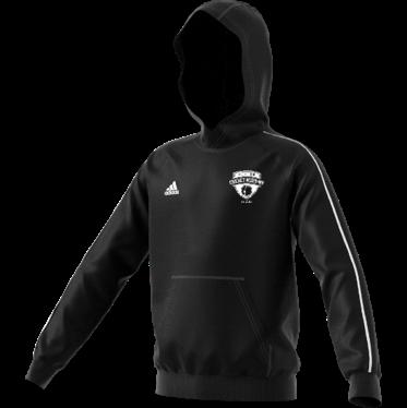 London Cricket Academy Adidas Black Junior Fleece Hoody