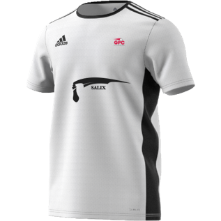 Girls Performance Cricket Adidas White Training Jersey