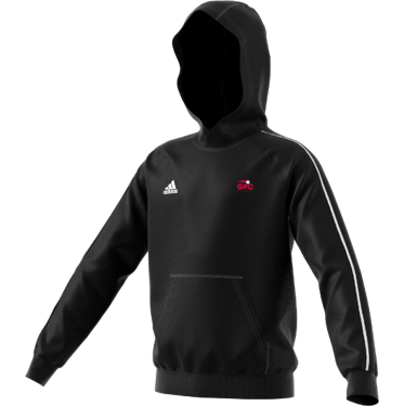 Girls Performance Cricket Adidas Black Junior Fleece Hoody