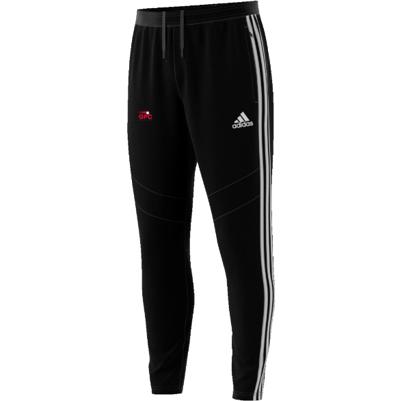 Girls Performance Cricket Adidas Black Training Pants