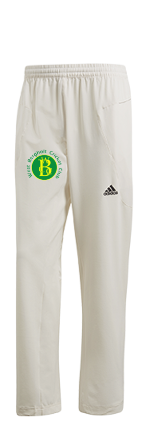 West Bergholt CC Adidas Elite Junior Playing Trousers