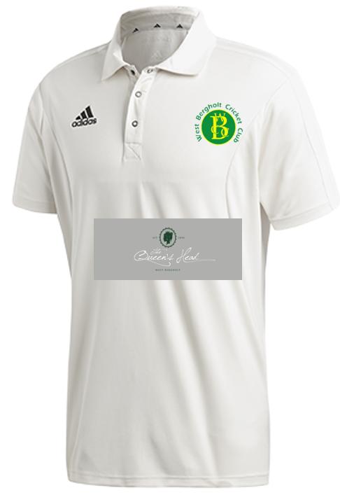 West Bergholt CC Adidas Elite S/S Playing Shirt