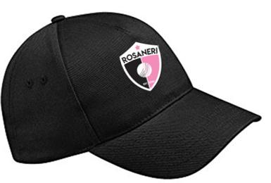Rosaneri CC Black Baseball Cap