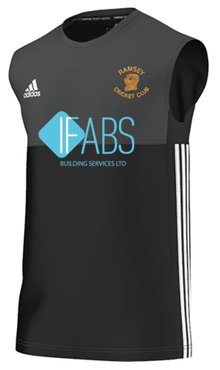 Ramsey CC Adidas Black Training Vest