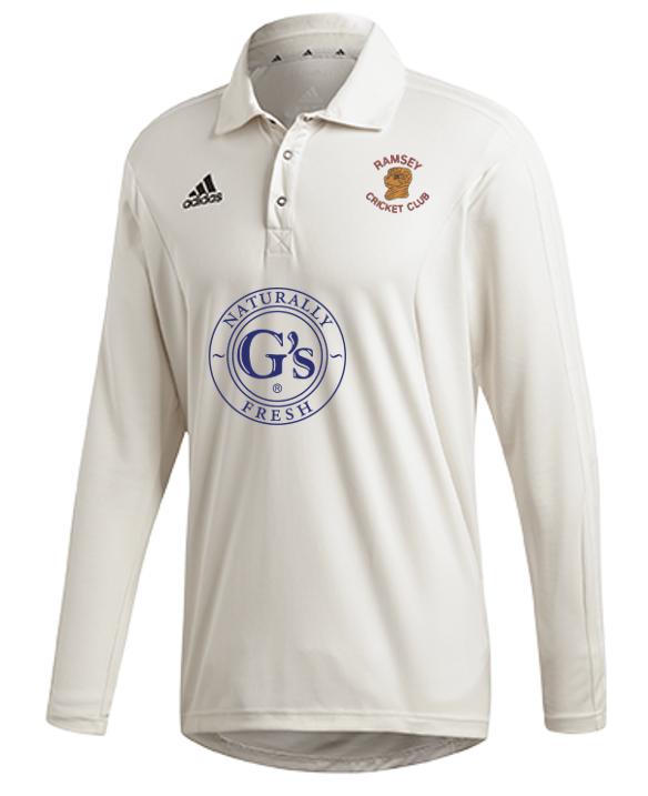 Ramsey CC Adidas Elite Long Sleeve Shirt