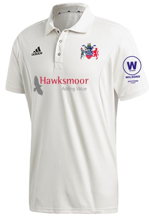 Tamworth CC Adidas Elite Junior Short Sleeve Shirt
