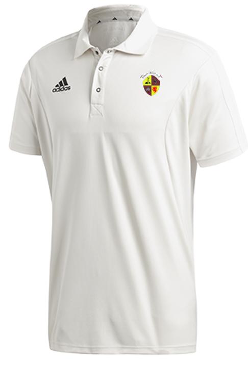 Evenley CC Adidas Elite Junior Short Sleeve Shirt