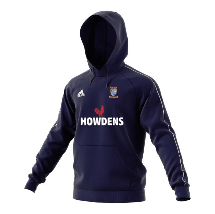 Keswick CC Adidas Navy Fleece Hoody