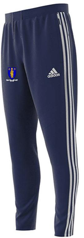 Merthyr CC Adidas Junior Navy Training Pants