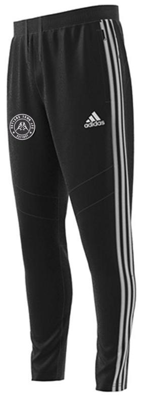 Hoyland Magpies Junior FC U10s Adidas Black Junior Training Pants