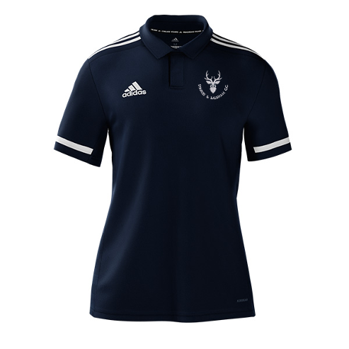 Staines and Laleham CC Adidas Navy Polo
