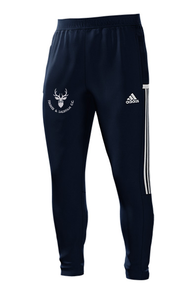 Staines and Laleham CC Adidas Navy Training Pants