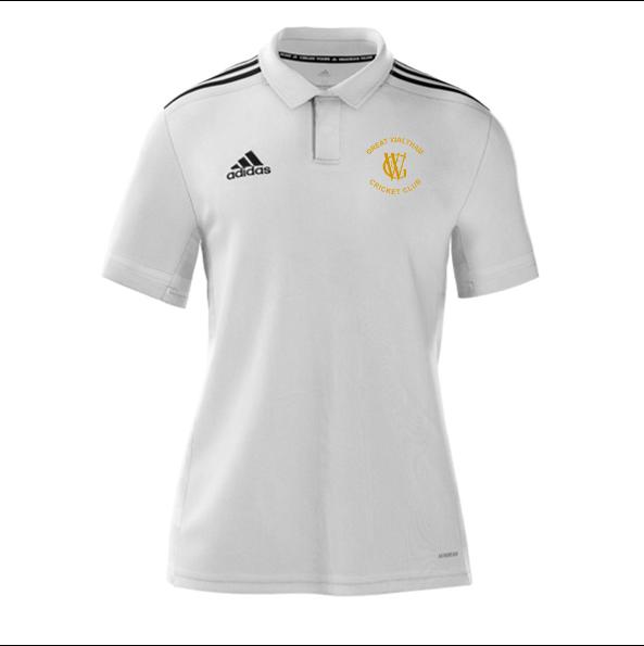 Great Waltham CC Adidas White Polo