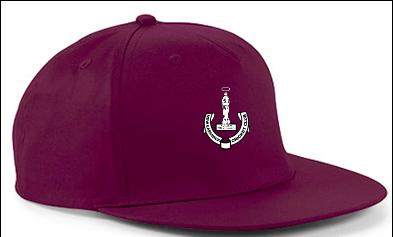 New Earswick CC Maroon Snapback Hat