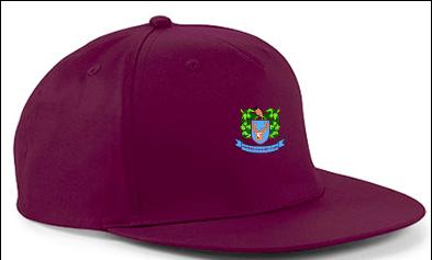 Harden CC Maroon Snapback Hat