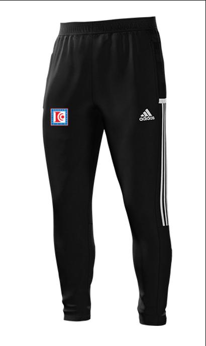 Dedham CC Adidas Black Junior Training Pants