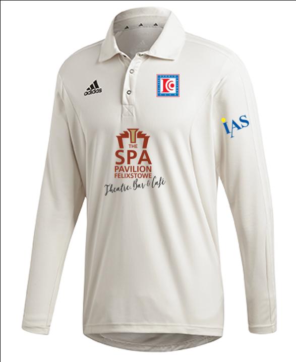 Dedham CC Adidas Elite Long Sleeve Shirt