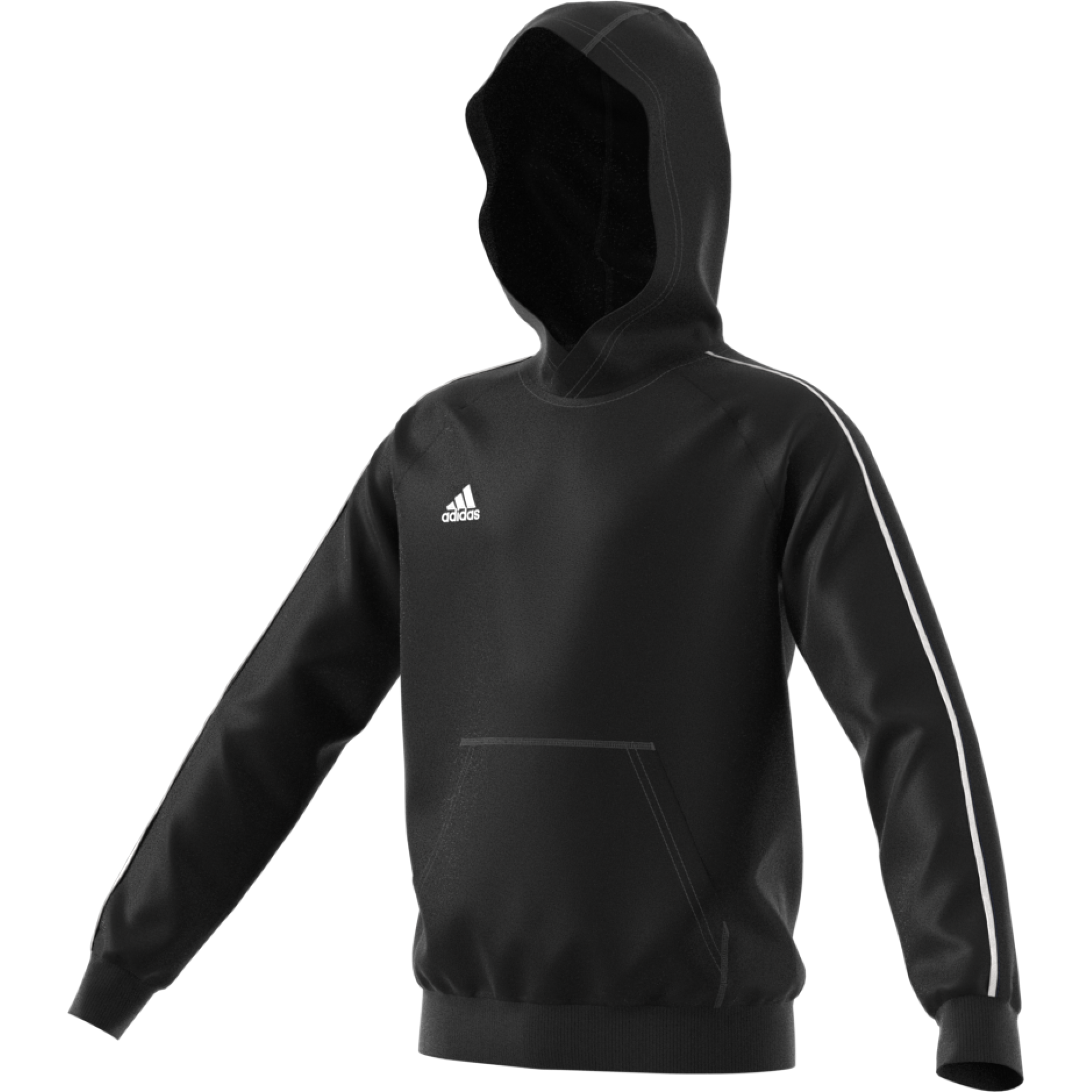 Norton Lindsey & Wolverton Adidas Black Junior Fleece Hoody