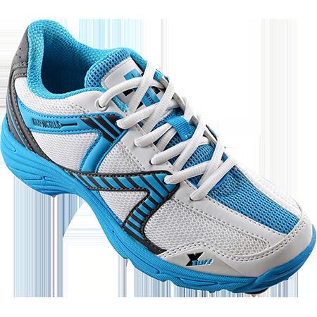 2018 Gray Nicolls Velocity Junior Blue Spike Cricket Shoes