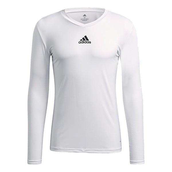 Adidas Long Sleeve White Base Layer