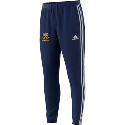 Leek CC Adidas Navy Training Pants
