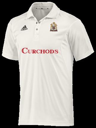 East Horsley CC Adidas Elite Junior Short Sleeve Shirt