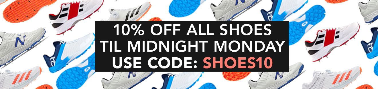10% off all shoes until midnight on Monday - use code SHOES10